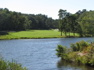 Another new tee on the 15th hole over water on this par five that rates as one of the worlds best